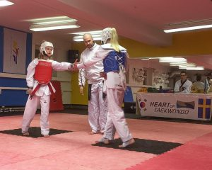 Taekwondo kamp 1